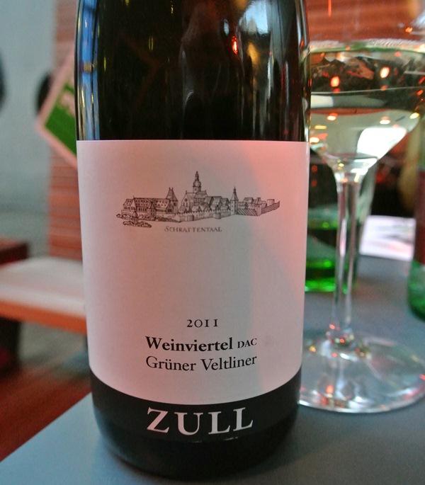 Grünen Veltliner Weinviertel DAC vom Weingut Zull