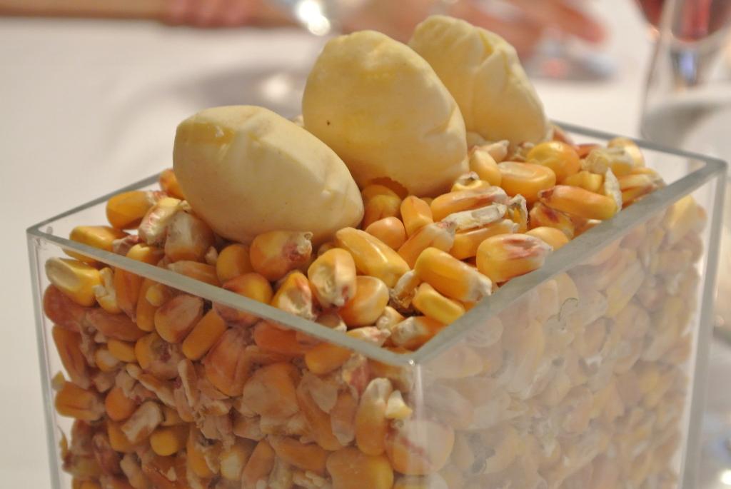 Knuspriges Maisschaumbrot