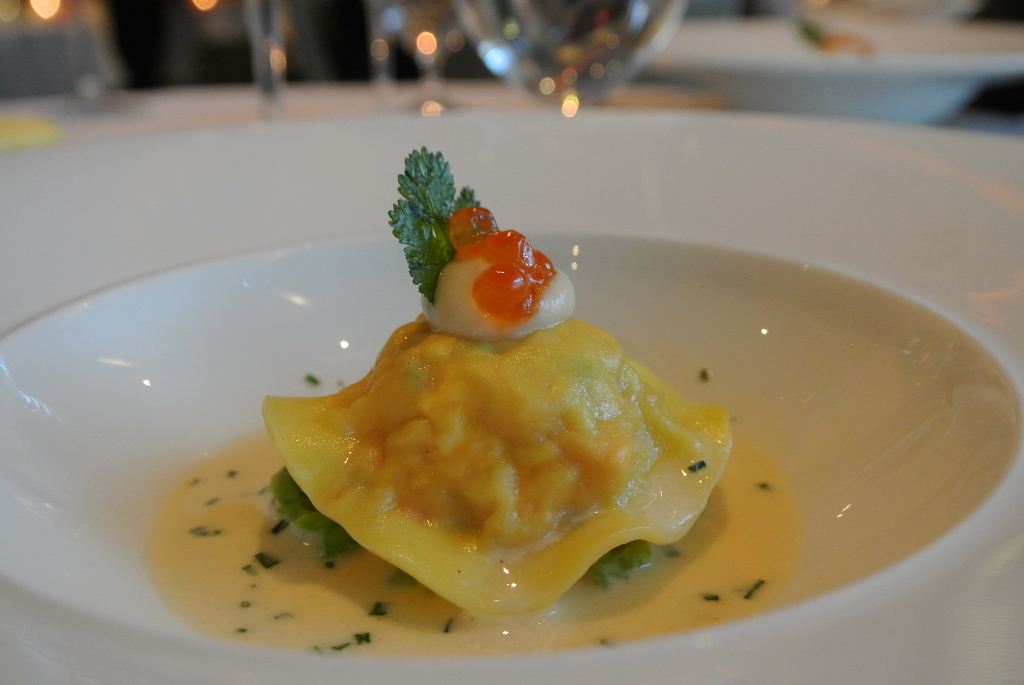 lobster ravioli