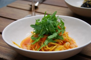 Prawn Linguine