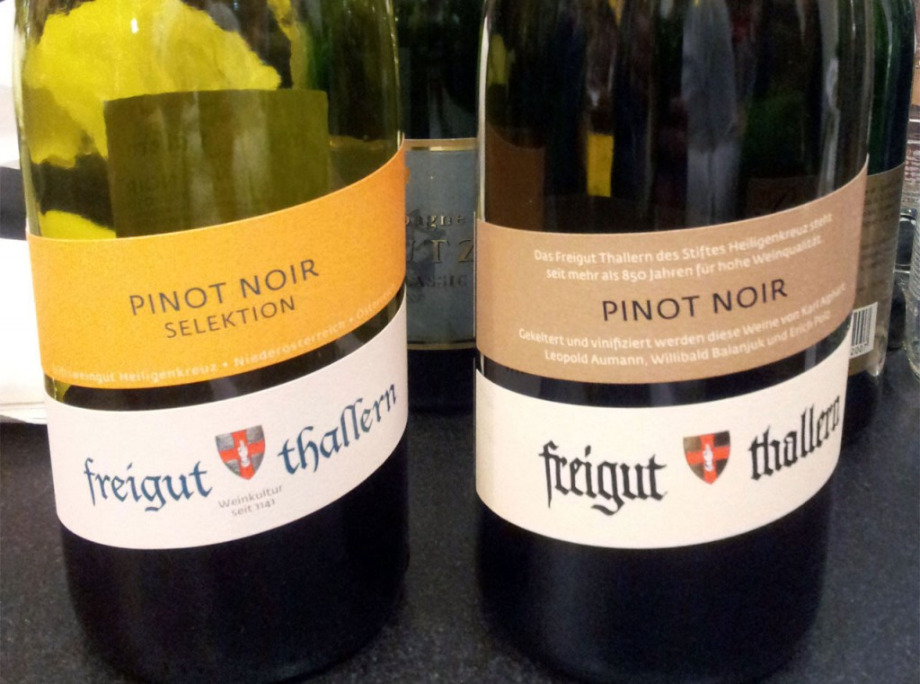 Pinot Noir: Freigut Thallern