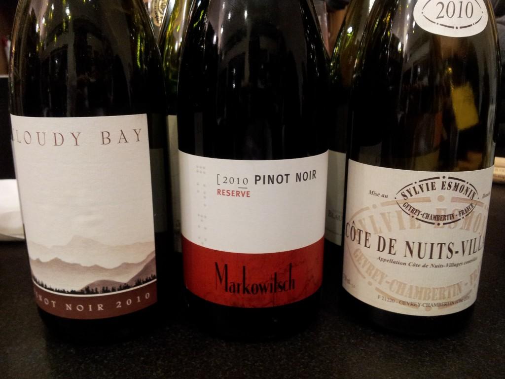 Pinot Noir Esmonin, Markowitsch, Cloudy Bay