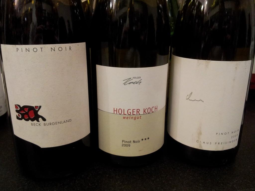 Pinot Noir: Judith Beck, Holger Koch, Preisinger