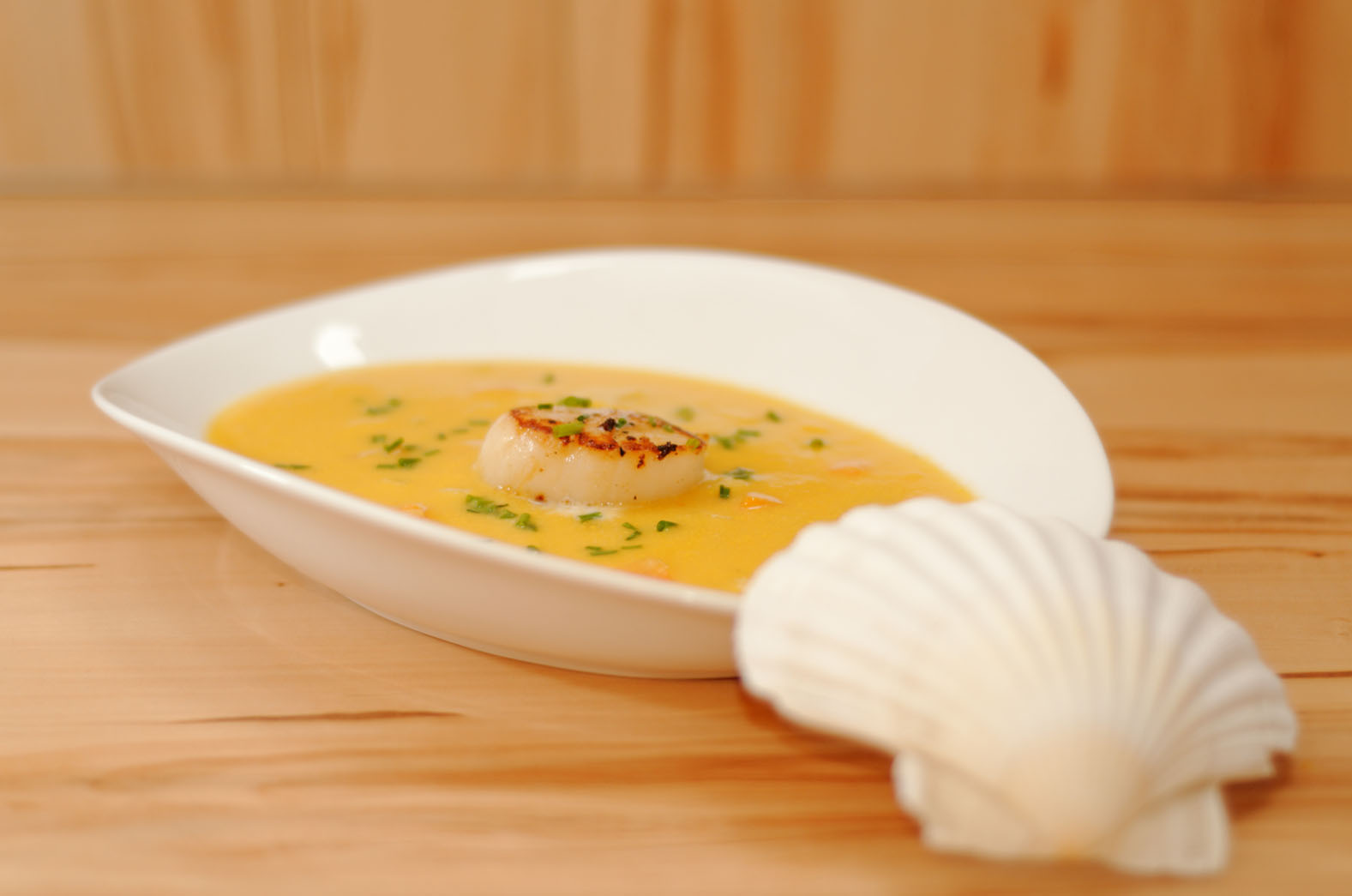 Karotten-Kokos Suppe