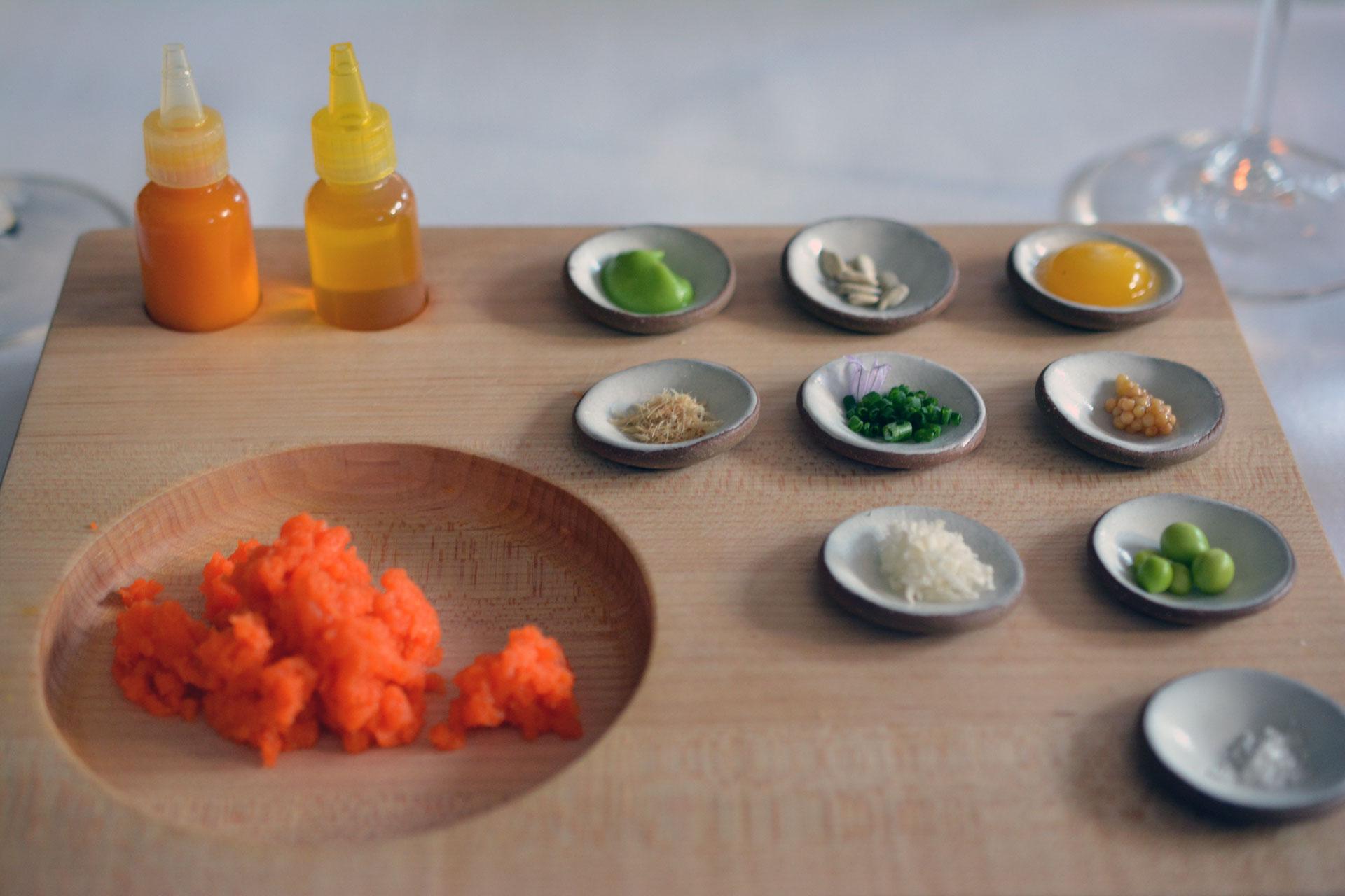 Karotten-Tatar