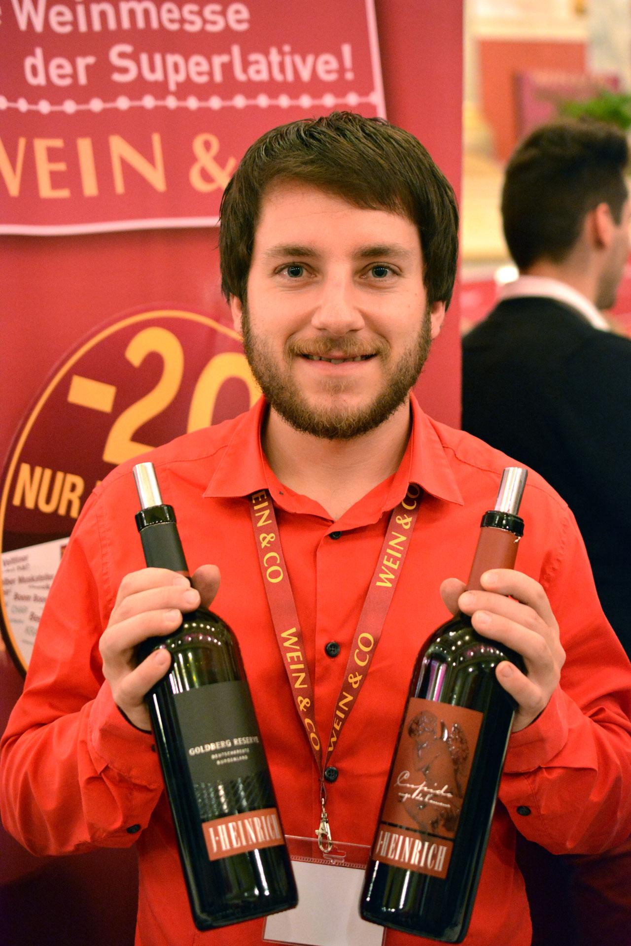 Kellermeister vom Weingut Silvia Heinrich