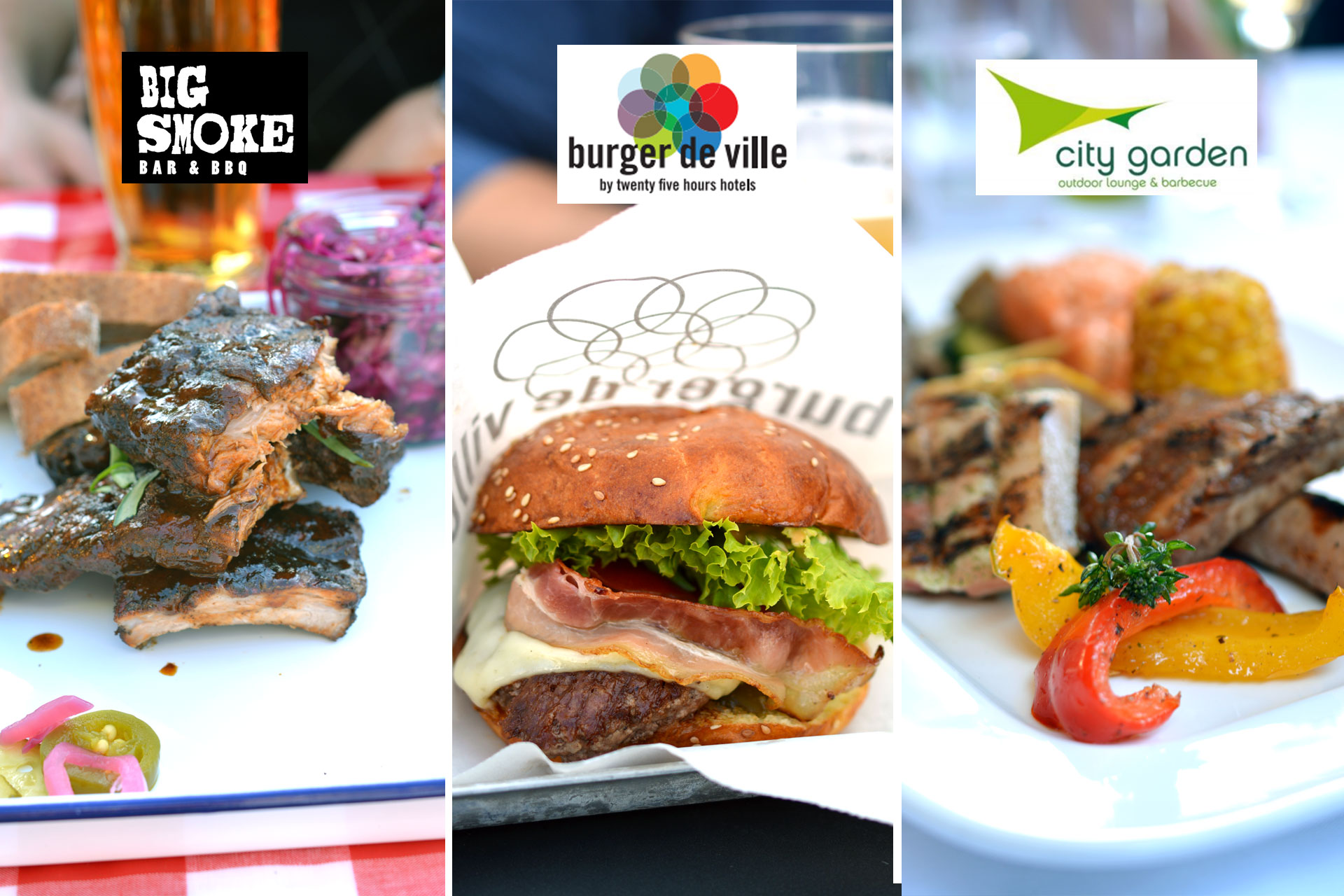 Big Smoke, Burger de Ville, City Garden