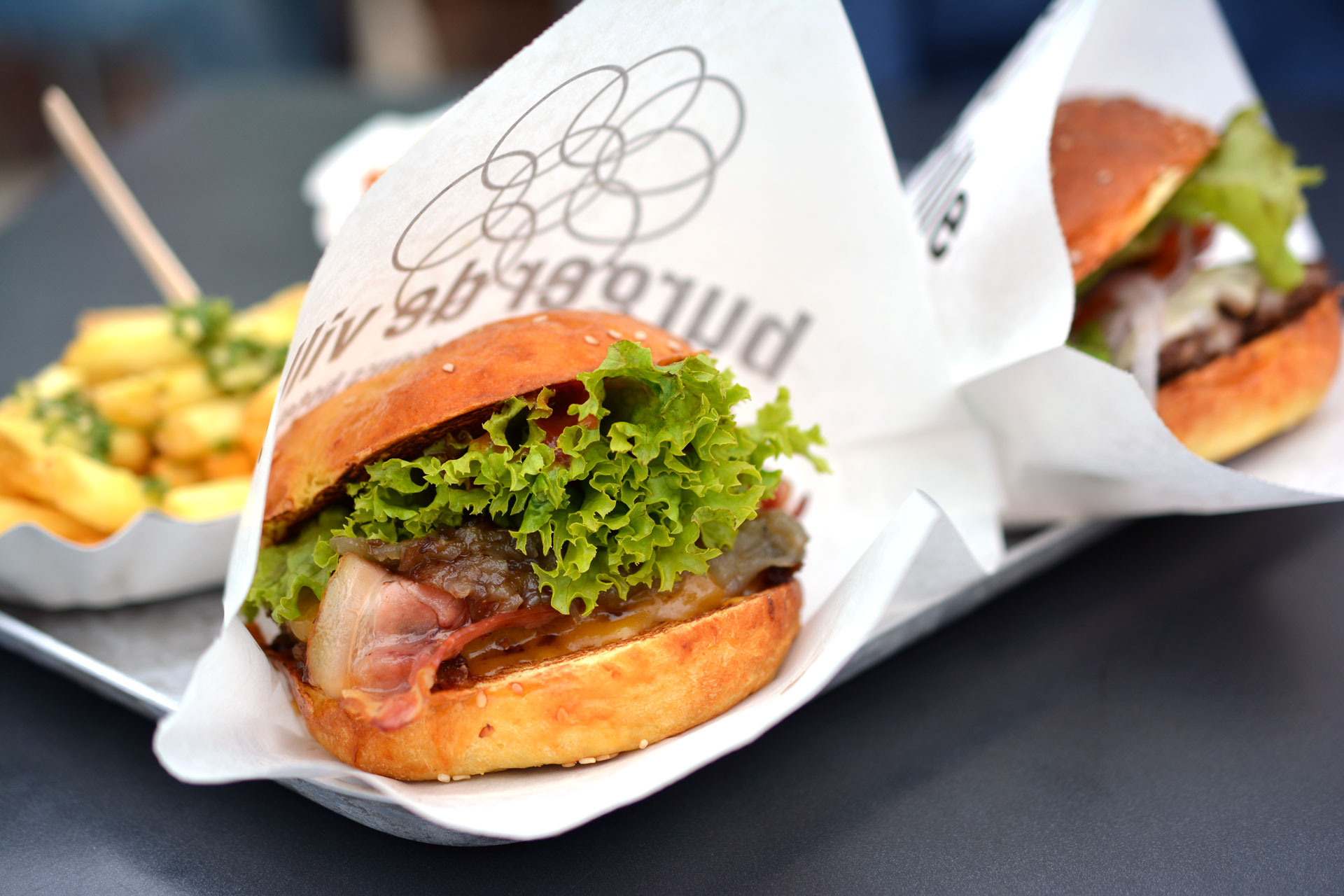 Burger de Ville: Cheeseburger