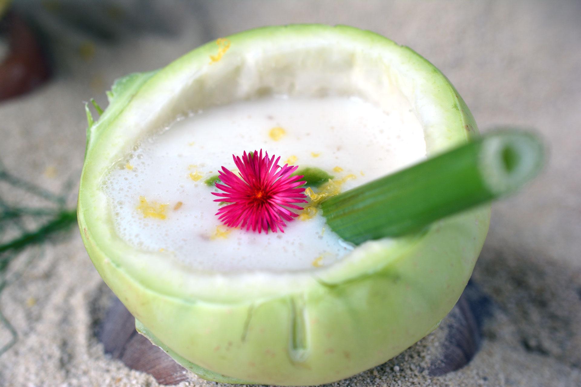 Austrian Coconut - Kohlrabisuppe