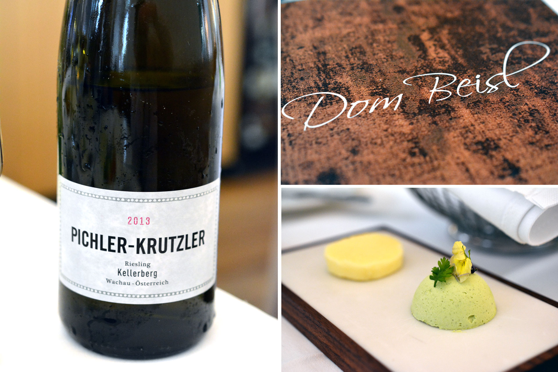 Dom Beisl Gedeck / Pichler-Krutzler Riesling