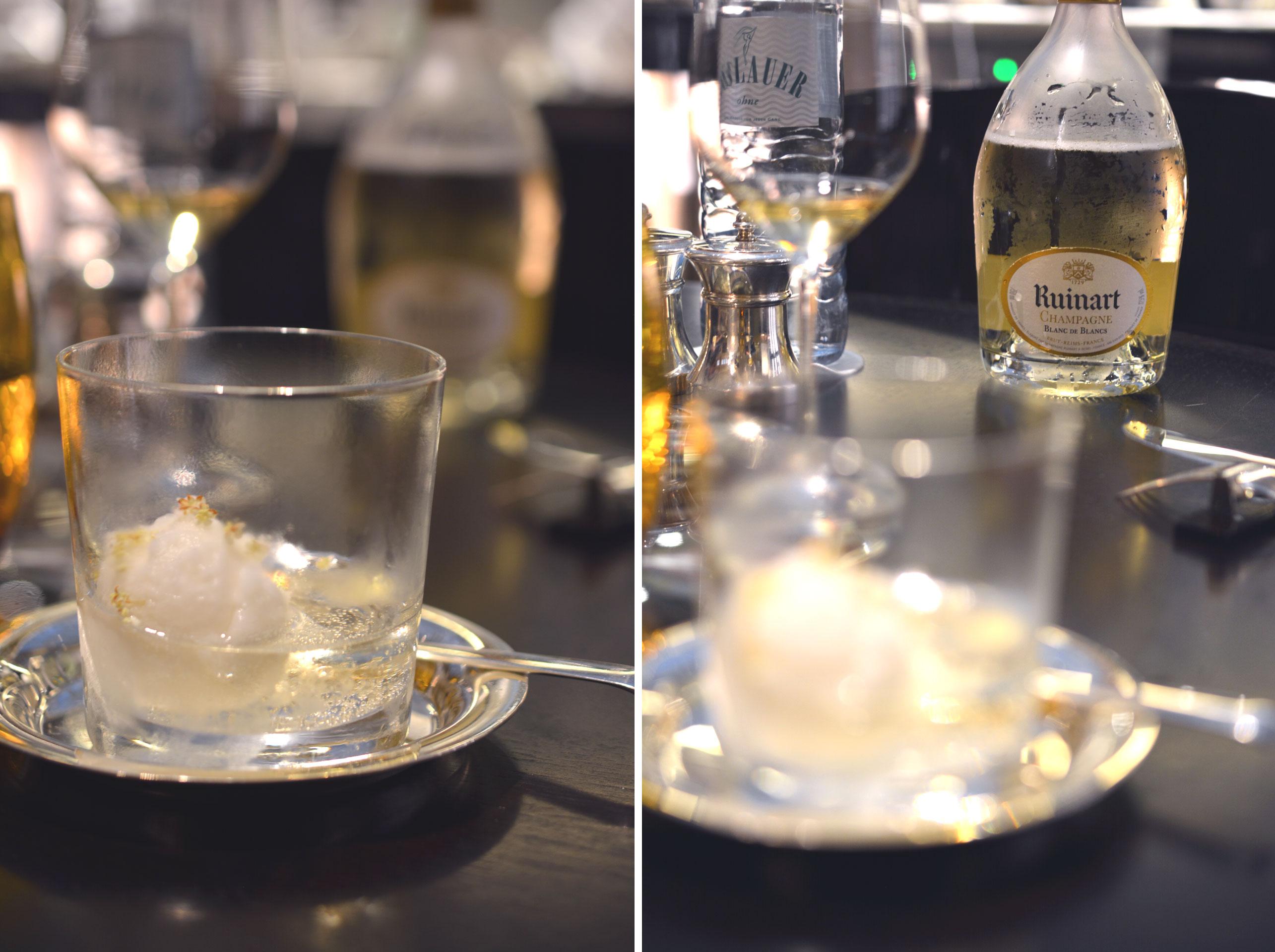 Champagner Sorbet